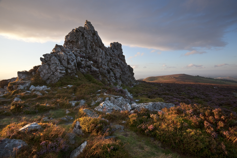 the stiperstones, devils chair, august 2011 - On Landscape