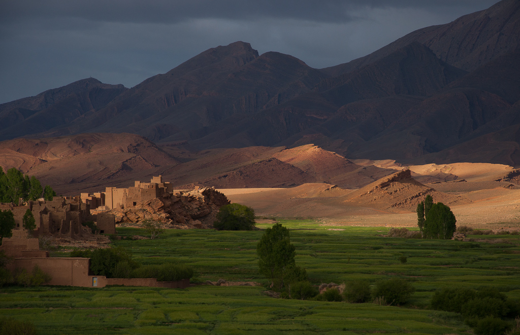 the landscape of morocco on landscape