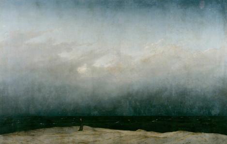 Monk by the Sea, 1808 - Caspar David Friedrich
