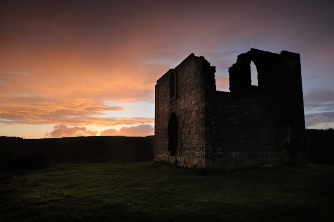 'Twilight at Skelton Tower' - by John Clifton