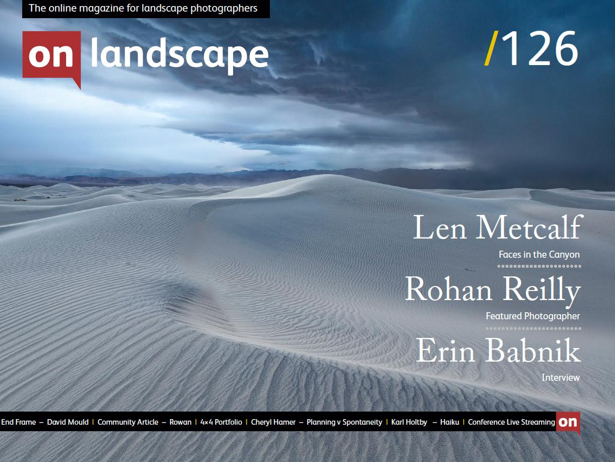 On Landscape Magazine Interview